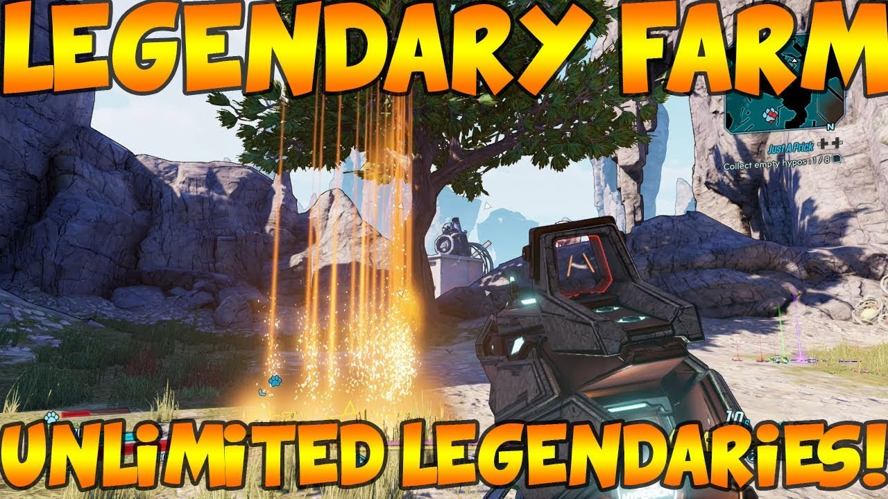 Borderlands 3 Best Legendary Farming Location Unlimited Legendary Weapons Fast Easy Youtube