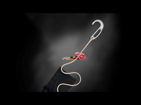 EXO AP - Personal escape system with anchor hook