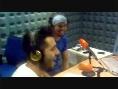 Macaco y Aslandticos en Radio Andalucia Deportiva