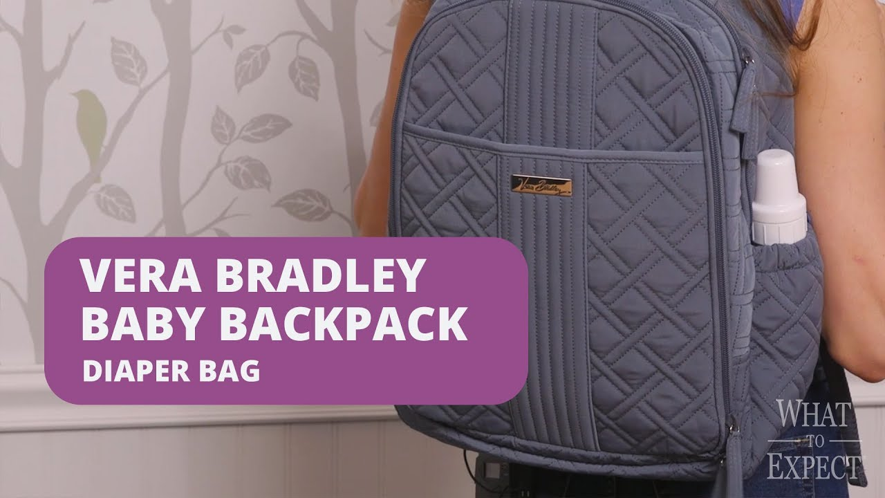 9c2fee13751 4 Things Moms Love about the Vera Bradley Baby Backpack Diaper Bag ...