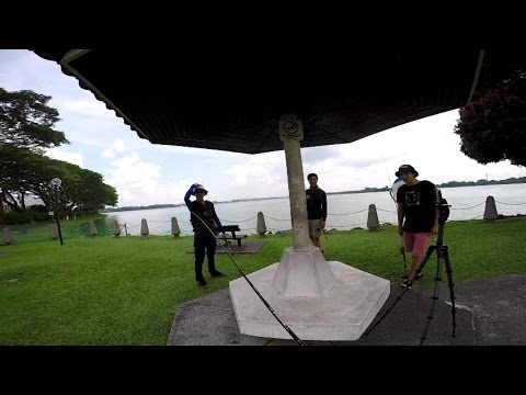 Fishing in Singapore: Kranji Fish-Off ft. Blurberry Fishing