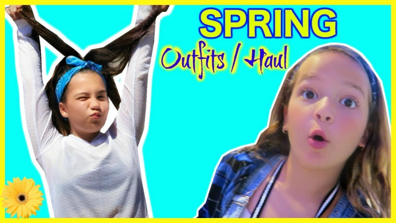 [VIDEO] - SHOPPING SPRING OUTFITS FOR SCHOOL PICTURE DAY/ TRY ON HAUL  ??? #140 2
