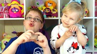 Челлендж СТИКЕРЫ развлечение для детей !!! Challenge STICKERS entertainment for children