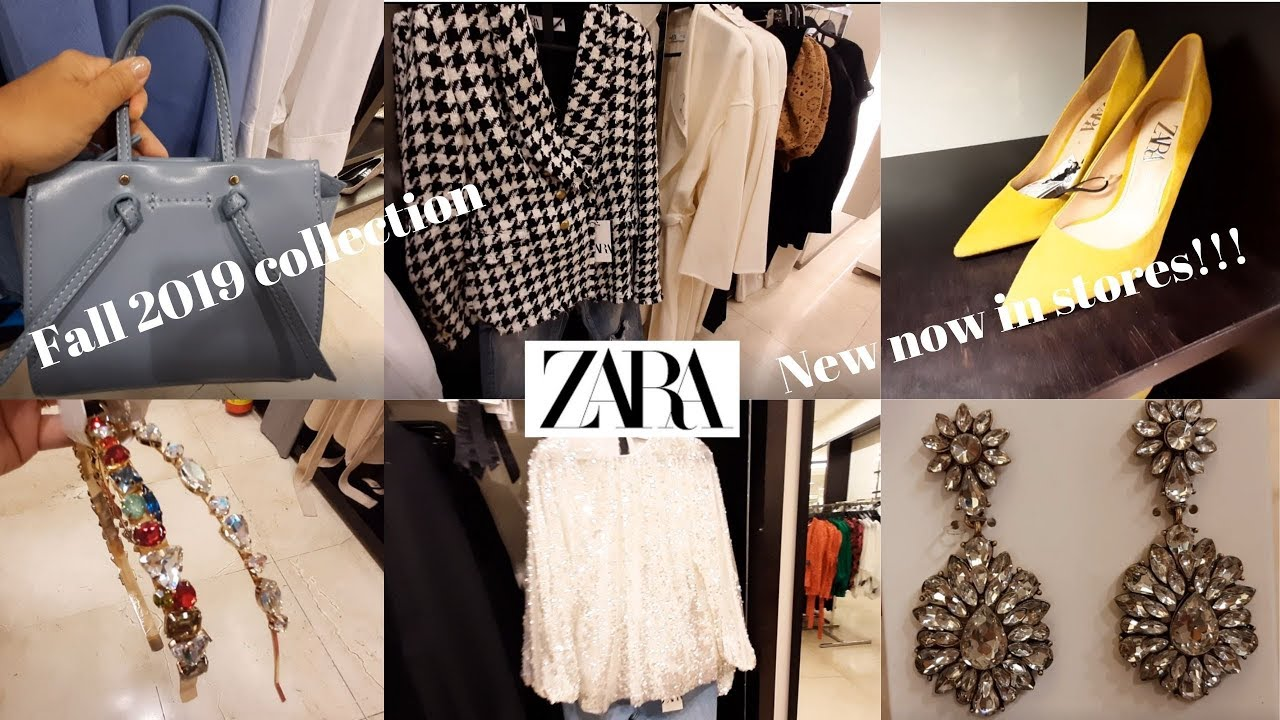 [VIDEO] - Zara Fall August 2019 New Collection/ Fall women's fashion collection. New! New! New! [part 1] 8