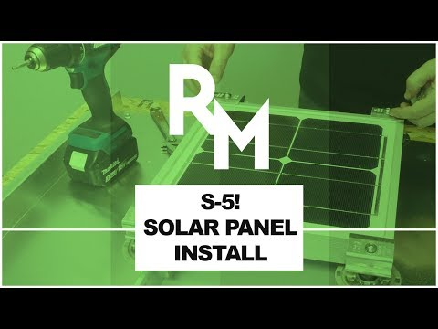 How to Install Solar Panels to a Metal Roof