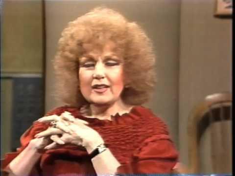 Edie Adams on Late Night, October 27, 1982