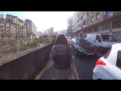 Walk Around Bilbao — Get Him to the Guggenheim [Binaural ASMR]