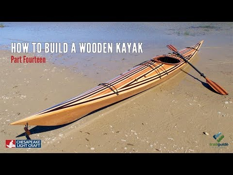 How to Build a Wooden Kayak - Applying the Fibreglass & Epoxy