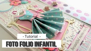 "FOTO FOLIO INFANTIL ""BEAUTIFUL MEMORIES"" CON KORA PROJECTS - TUTORIAL 