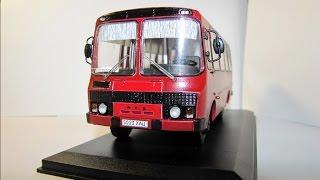 Масштабна модель автобуса ПАЗ-3205 в масштабі 1:43