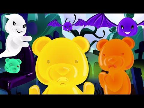 Хэллоуинские ночи   русский мультфильмы для детей   Halloween Nights   Jelly Bears Russia