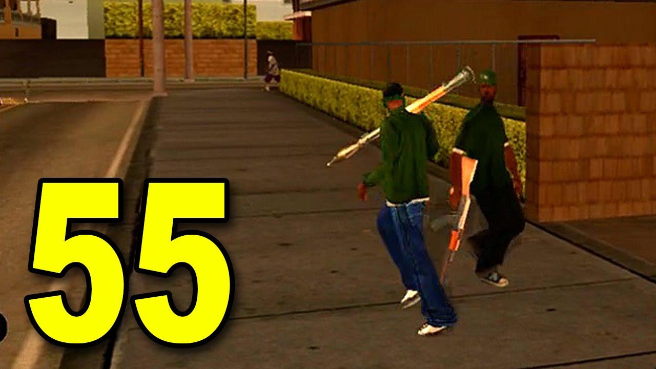 Grand Theft Auto: San Andreas - Part 55 - RPG Gang (GTA Walkthrough / Gameplay) thumbnail
