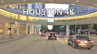 Houston 4k - Sunset Drive - Usa