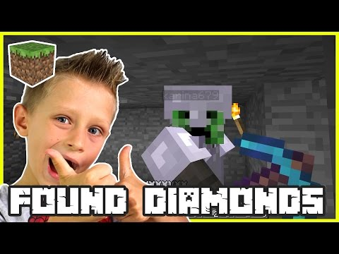 WE FOUND DIAMONDS | Minecraft