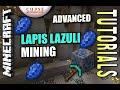 Minecraft PS4 - LAPIS LAZULI MINING - ADVANCED - How To - Tutorial ( PS3 / XBOX )
