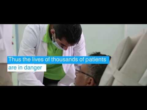 Helping Yemen Keep Its National Blood Bank Open