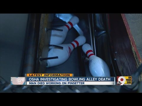 Update: Man killed by bowling alley machinery