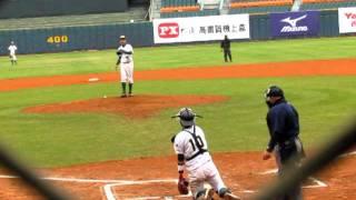 1010219青棒菁英賽季軍戰高苑vs中農4梁家榮vs朱俊祥二滾
