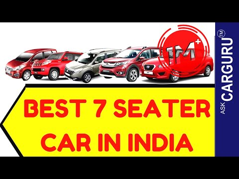 Best 7 Seater Car in India, CARGURU, हिन्दी में, Tuv 300, xylo, Enjoy,