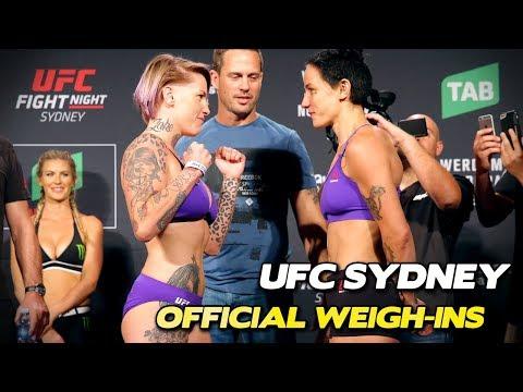 UFC Sydney: Werdum vs. Tybura Full Official Weigh-ins