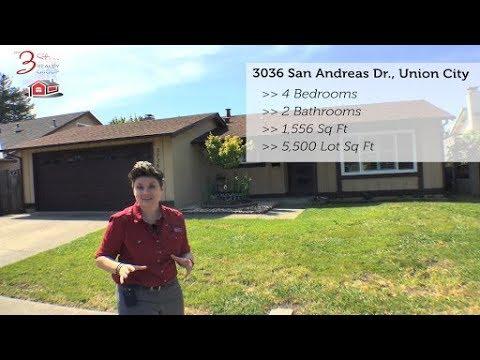 ⏰ Listing Alert 🏡 3036 San Andreas Drive, Union City 😍