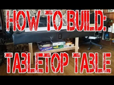 Game Night   Table Top Gaming Table Build   How To