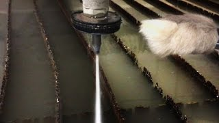 Lucky Rabbits Foot vs 60,000 PSI Waterjet Cutter