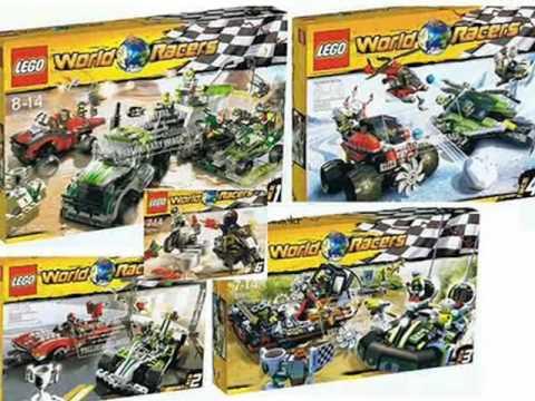 2010 lego world racers summer sets - YouTube