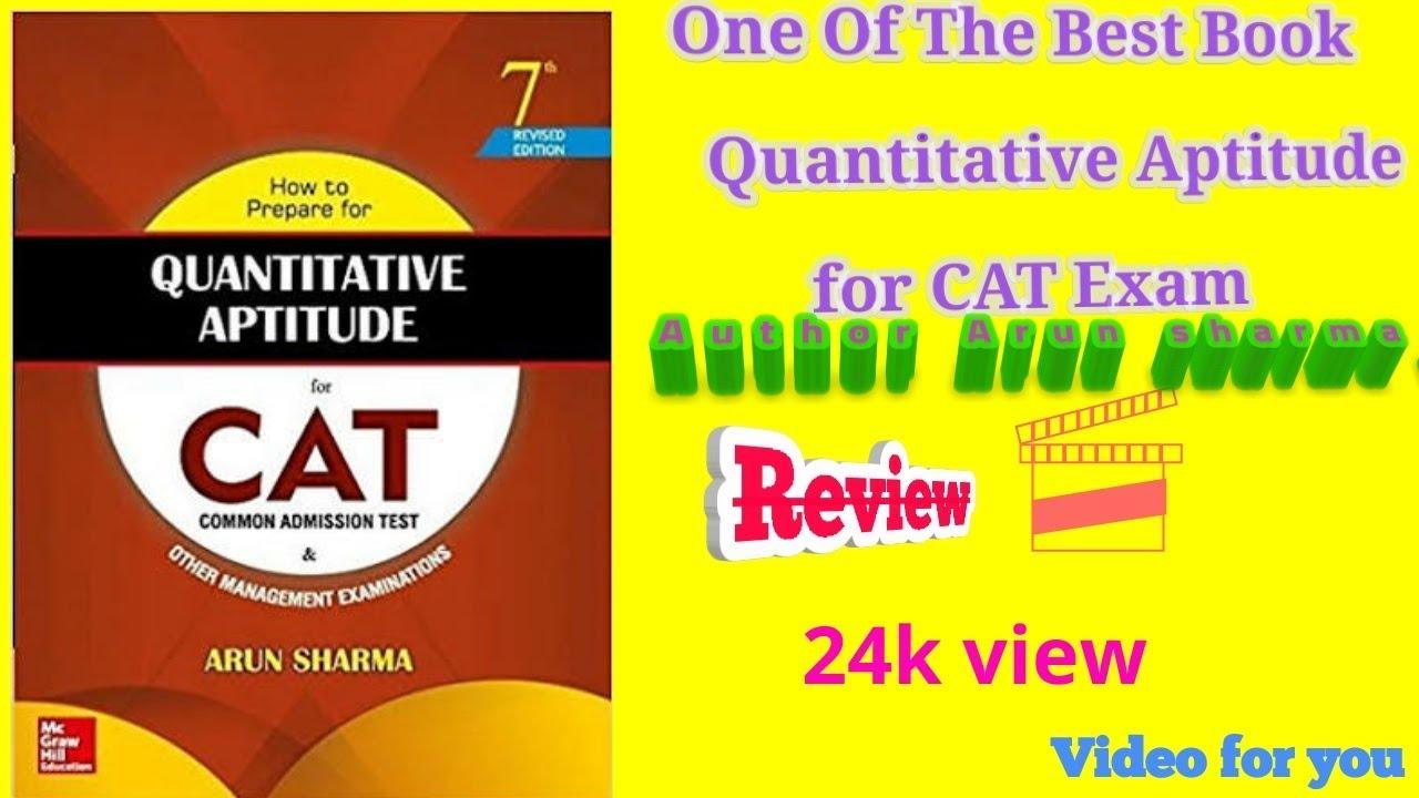 Quantitative Aptitude Book by Arun Sharma Free PDF Download