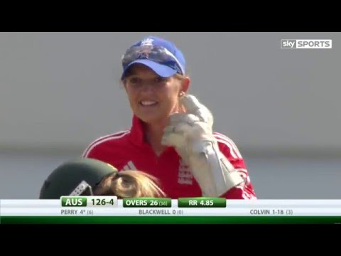 Best catch in Women's history: Sarah Taylor with unbelievable reflexes