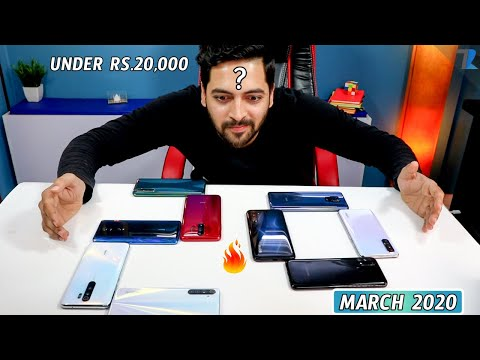 Best Android Smartphones Under Rs 20,000 In India [MARCH 2020]