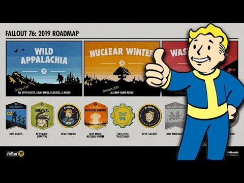 Fallout 76 2019 DLC ROAD MAP REVEALED! - Why I Am INTRIGUED! thumbnail