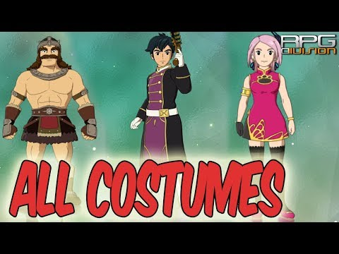 NI NO KUNI 2 - How to unlock all Outfits/Costumes