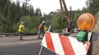 SR 89A Oak Creek Bank Project