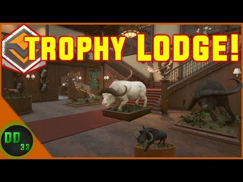 TROPHY LODGE TOUR In Call Of The Wild!!