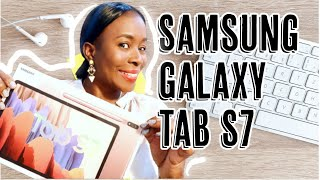 SAMSUNG GALAXY TAB S7 – UNBOXING, SETUP & INITIAL IMPRESSIONS | BEST TAB YET? | ISOWA GALLERY