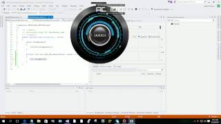 Jarvis Animated Interface WPF C#