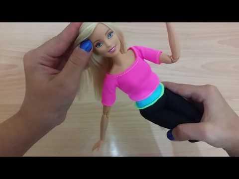 Barbie sonsuz hareket bebeği açıyoruz!! Gerçekten çok esnek No #39