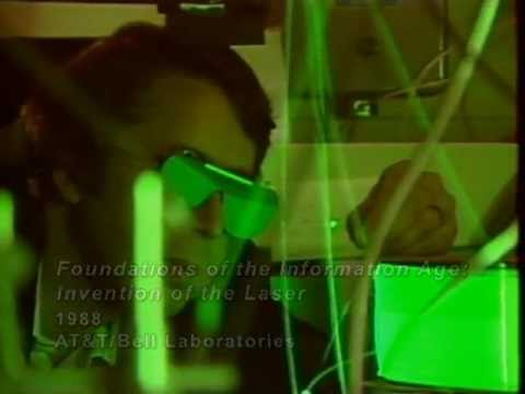 AT&T Archives: Inventing the Laser at Bell Labs