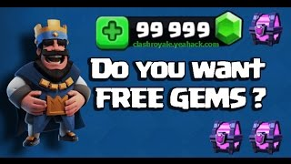 Clash Royale GLITCH FOUND! TOP UP YOUR FREE GEMS NOW!