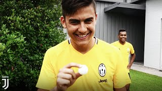Juventus put their tennis tekkers to the test!