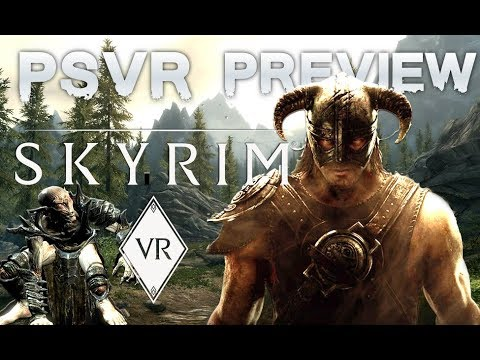 Skyrim VR (PSVR) | a cinematic introduction to Skyrim & how to build your own house