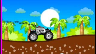 Police Monster Truck Cool Math Games For Kids