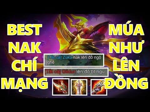 Múa như hack với Nakroth full chí mạng bị team bạn coi thường và cái kết đi rừng ko được ăn bùa