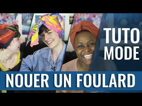 4 FAÇONS DE PORTER LE FOULARD