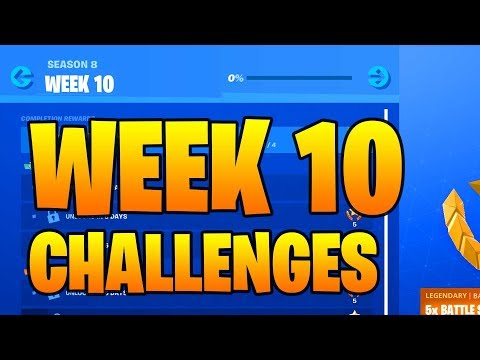 FORTNITE SEASON 9 WEEK 10 CHALLENGES GUIDE (LEAKED)