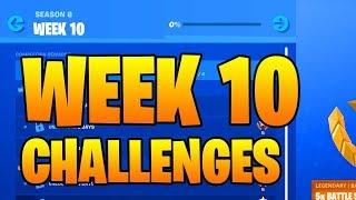 FORTNITE SEASON 9 WEEK 10 CHALLENGES GUIDE (LEAKED)
