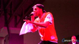 Diggy Simmons performing