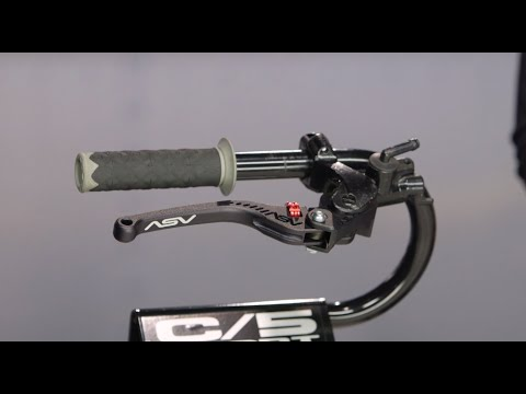 ASV C5 Sport Levers Review at RevZilla.com