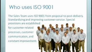 What is ISO 9001?(, 2011-08-18T16:35:04.000Z)